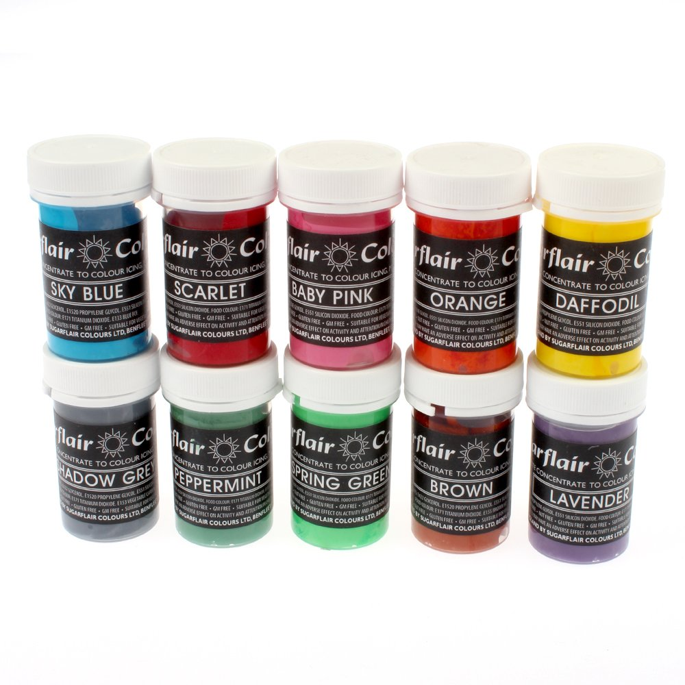 Sugarflair Paste Colour - 25g - Uganda Trimmings Ltd